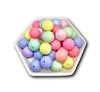 Matte Pastel 20MM Beads (Pack of 3)