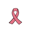 Badge Reel Awareness Ribbon NO HOLE