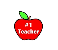 Badge Reel Apple NO HOLE