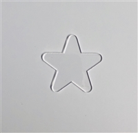 Badge Reel Star NO HOLE