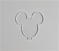 Badge Reel Mouse Balloon NO HOLE