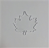 Badge Reel Maple Leaf NO HOLE