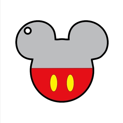 Mouse Head Male 3""