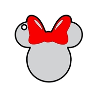 Mouse Head Female 2.78""