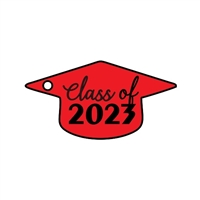 Graduation Cap *Side hole for Tassel* 3""