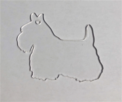 Scottie Dog (Scottish Terrier) 3""