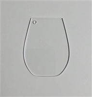Stemless Wine Glass 3""