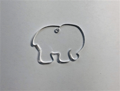 MINI Bubble Elephant 1.5""