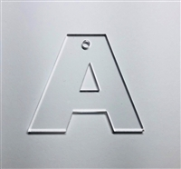 Letter A Bold