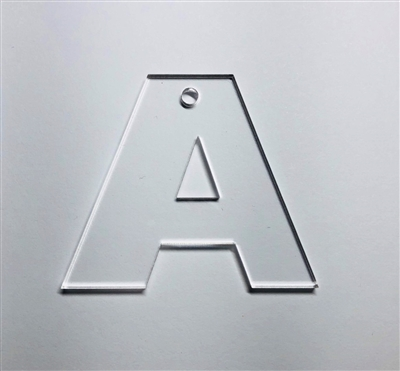 Letter A Bold 2.35""