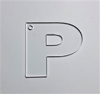 Letter P Bold