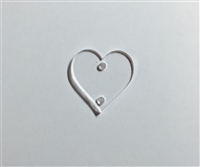 Birthday Wall Hanger Hearts (8 Pack)