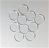 10 Circles for Shot Glass Tic Tac Toe Boards 1""