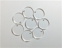 "Circle 1"" with one hole (8 Pack)"