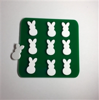 Easter Bunny Tic Tac Toe Board with Pieces