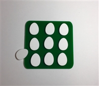 Easter Egg Tic Tac Toe Board with Pieces