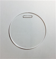 "Luggage Tag 3"" Circle"