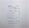Owl Earbud Holder