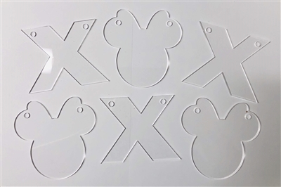 Mouse Female XOXO Banner