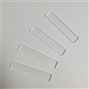 Hair Barrette Rectangle (4 Pack) 2.75""