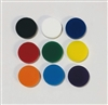 "BULK ORDER 0.63"" Circle Post Earrings One Color 50 Pairs"