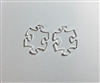 Puzzle Dangle Earrings (Pair) 1.25""