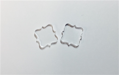 Quatrefoil Post Earrings 16mm