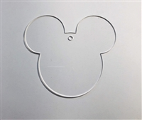 Mouse Male Ornament 4.5""