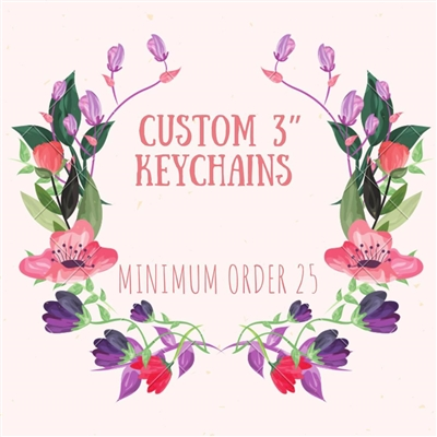 Special Request Custom Keychain With File