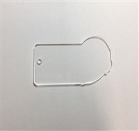 "2"" Rectangle with Headset"