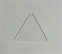 "2"" Triangle Rounded"