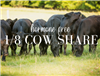 1/8 Cow Share