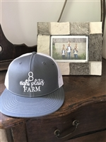Flat Bill Baseball Hat Graphite