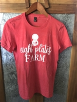 Men's T Shirt Heather Red