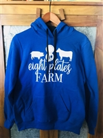Women's Fitted Sweatshirt Royal Blue