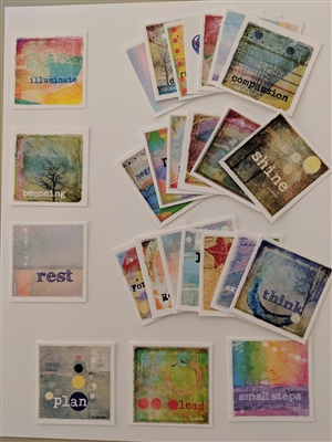 Tuckers Collection 3: Illuminate Affirmation Cards