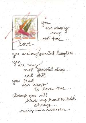 You are Simply My Best Time Greeting Card
