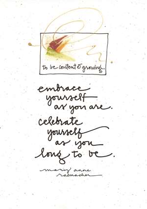 Embrace Yourself Greeting Card