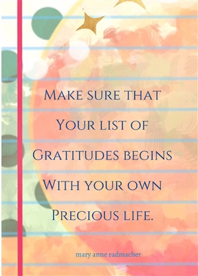 Your Own Precious Life Greeting Card