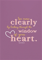 See More Clearly Greeting Card