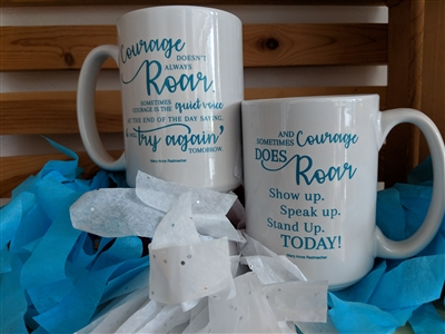 Choose Your Courage Mug (Set of 4)