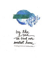 By the Sea Print