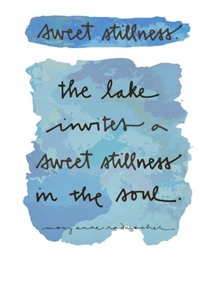 Sweet Stillness Print