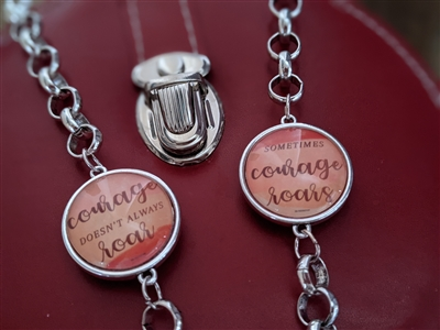 Choose Your Courage 2-Sided Bracelet