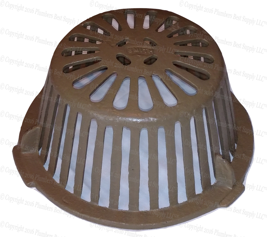 Smith 1010 Roof Drain Cast Iron Dome