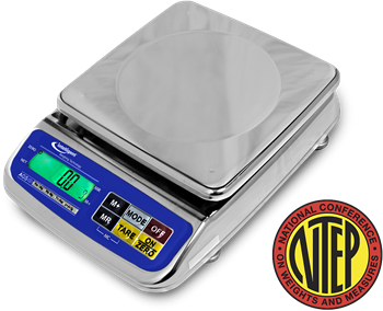 AGS-12KBL NTEP Washdown Precison Lab/Kitchen Scale
