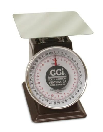 CCI Spring Dial Scales - CCI LCD