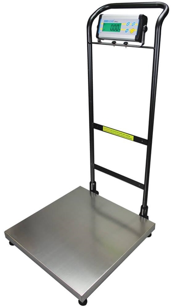 CPW PLUS W Handlebar Floor Scale with Wheels