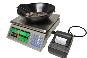 KCS Laundromat Coin Counting Scale
