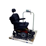LWC-800 Large Wheelchair Scale from SummitMeasurement.net